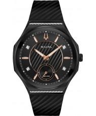 Bulova 98R240 Reloj de las señoras curv del diamante