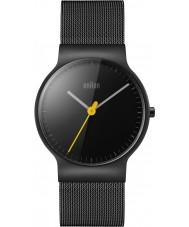 Braun BN0211BKMHL Reloj para hombre pulsera de acero negro delgado clásico