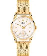 Henry London HL30-UM-0004 Damas westminster champán pálido reloj de oro Hamilton