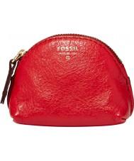 Fossil SL4861602 Ladies regalos funda con cremallera escarlata