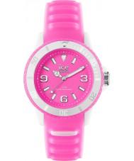 Ice-Watch GL.PK.U.S.14 Unisex hielo-reloj resplandor rosado