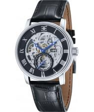 Thomas Earnshaw ES-8041-01 Mens westminster reloj de la correa de piel de cocodrilo negro