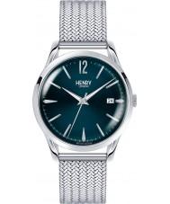Henry London HL39-M-0029 Señoras de Knightsbridge reloj de plata azul