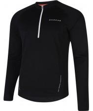 Dare2b DMT123-80090-XXL Para hombre negro de latitud camiseta de manga larga - el tamaño de xxl