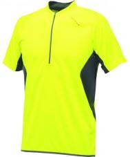 Dare2b DMT095-0M080-XL Mens represalias fluoro maillot amarillo camiseta - el tamaño de xl
