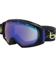 Bolle 21153 La gravedad negro y el añil láser - gafas de esquí azul aurora
