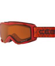 Cebe CBG117 Bionic rojo - naranja gafas de esquí