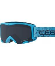 Cebe CBG118 Bionic azul cian - gafas de esquí gris