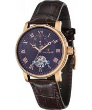 Thomas Earnshaw ES-8042-05 Mens westminster reloj de la correa de cuero marrón