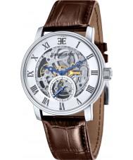 Thomas Earnshaw ES-8041-02 Mens westminster reloj de la correa de piel de cocodrilo marrón
