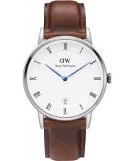 Daniel Wellington DW00100095 34mm Dapper reloj st varones plata