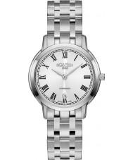 Roamer 515811-41-22-50 Damas superslender reloj de plata brazalete de acero