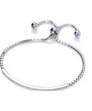 Purity 925 PUR0156-1 Damas pulsera de plata esterlina con CZ