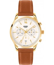 Henry London HL39-CS-0014 reloj cronógrafo de champán bronceado pálido Westminster