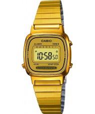 Casio LA670WEGA-9EF oro plateado colección de relojes