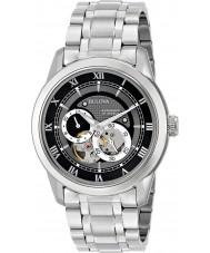 Bulova 96A119 Reloj para hombre pulsera de plata de acero automática