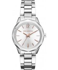 Karl Lagerfeld KL4013 Damas Optik reloj de pulsera de acero de plata
