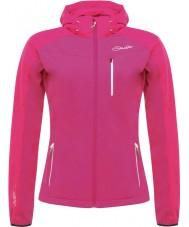 Dare2b DWL317-8ZX20L Damas utilizan jem chaqueta rosada de caparazón blando - el tamaño de uk 20 (XXXL)