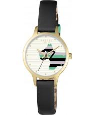 Radley RY2406 Las señoras de sauce reloj de la correa de cuero negro