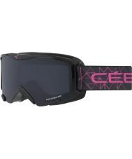 Cebe CBG119 Bionic negro y rosa - gafas de esquí gris
