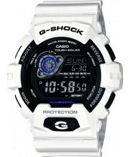 Casio GR-8900A-7ER Mens g-shock tiempo del mundo con energía solar reloj blanco