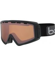 Bolle 21499 Z5 OTG negro brillante - gafas de esquí de armas de cítricos