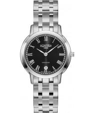Roamer 515811-41-52-50 Damas superslender reloj de plata brazalete de acero