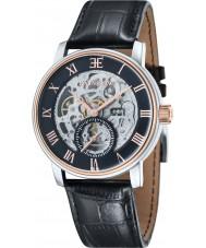 Thomas Earnshaw ES-8041-04 Mens westminster reloj de la correa de piel de cocodrilo negro