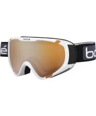 Bolle 21375 Explorador blanco brillante OTG - gafas de esquí de armas de cítricos