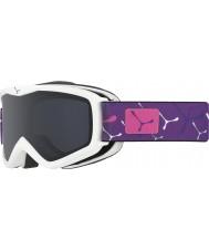 Cebe CBG120 Teletransportador blanco violeta - gafas de esquí gris
