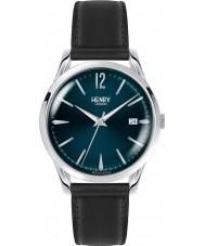 Henry London HL39-S-0031 reloj negro azul Knightsbridge