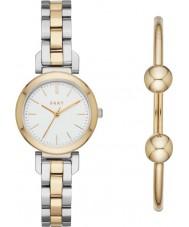 DKNY NY2678 Conjunto de regalo de reloj de damas ellington