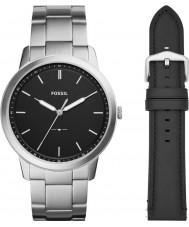 Fossil FS5451SET Set de regalo para reloj minimalista para hombre
