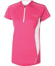 Dare2b Las señoras revel la camiseta eléctrica rosada