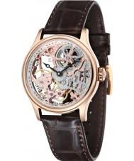 Thomas Earnshaw ES-8049-03 Bauer para hombre de Brown del reloj mecánico esquelético