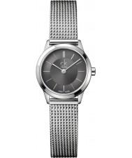 Calvin Klein K3M23124 Damas mínima reloj de plata gris