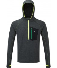Ronhill RH-001407Rh-00255-S sudadera con capucha para hombre de la victoria impulso