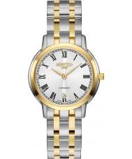 Roamer 515811-47-22-50 Damas superslender reloj de pulsera de acero de dos tonos