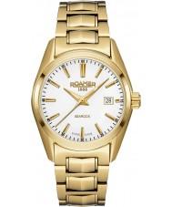 Roamer 210844-48-25-20 Searock damas chapado en oro reloj pulsera