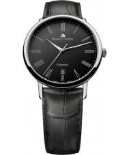 Maurice Lacroix LC6067-SS001-310 Mens les classiques tradición negro y acero reloj automático