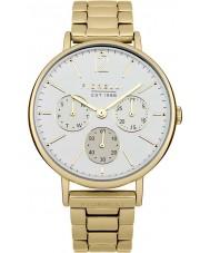 Fiorelli FO002GM Chapado en oro de las señoras reloj cronógrafo