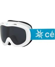 Cebe CBG122 Jerry blanco como la nieve - gafas de esquí de rosa oscuro