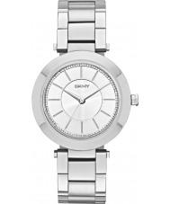 DKNY NY2285 Damas Stanhope reloj de pulsera de acero de plata