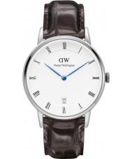 Daniel Wellington DW00100097 reloj de plata de 34 mm York Dapper