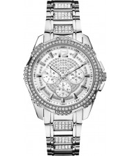 Guess W0286L1 Damas intrépido reloj pulsera de acero 2 de plata