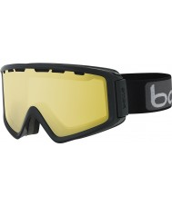 Bolle 21501 Z5 OTG negro brillante - gafas de esquí de armas de limón