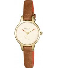 Radley RY2410 Señoras de Wimbledon reloj de la correa de cuero marrón