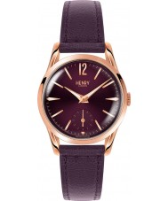 Henry London HL30-US-0076 reloj púrpura señoras de Hampstead