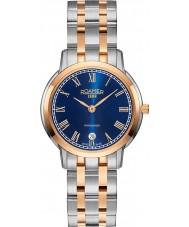 Roamer 515811-49-42-50 Damas superslender reloj de pulsera de acero de dos tonos