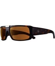 Revo Rbv1004 bono de firma apolo mate concha - gafas de sol polarizadas marrones